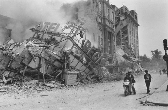 Consecuencias del sismo 19