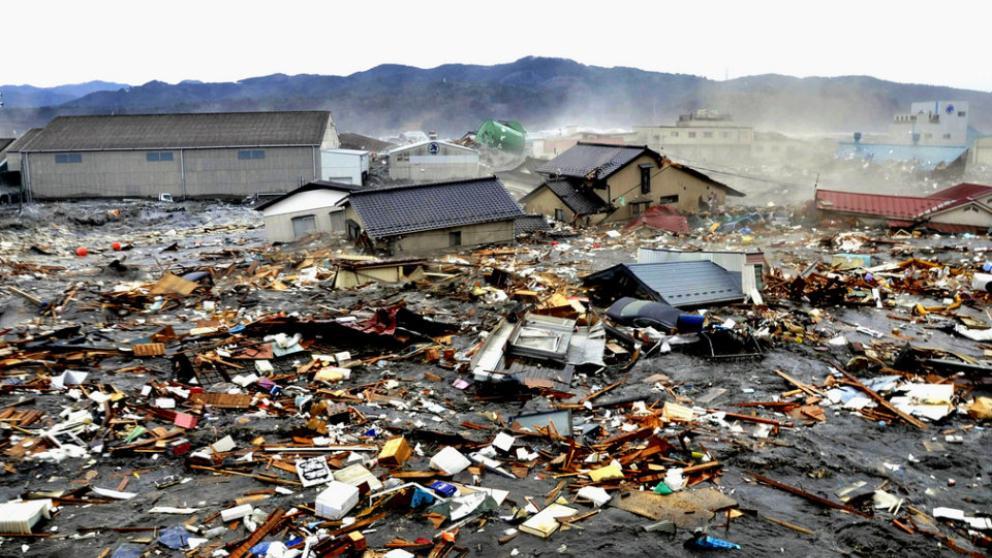 tsunami de japón 2