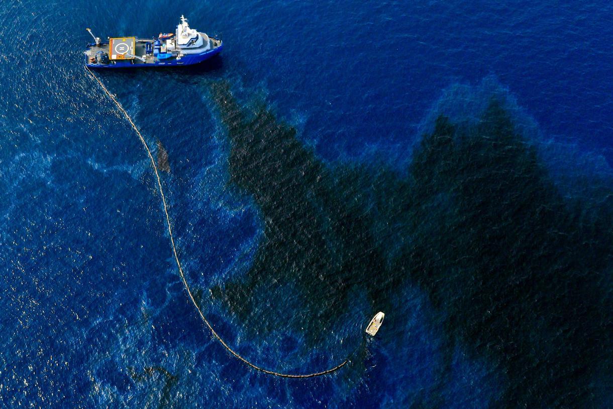derrame de petróleo del golfo de méxico