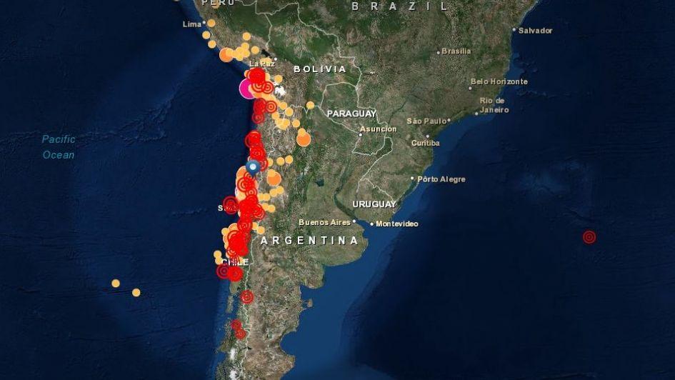 Consecuencias del sismo 16