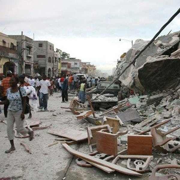 tsunami de Haití