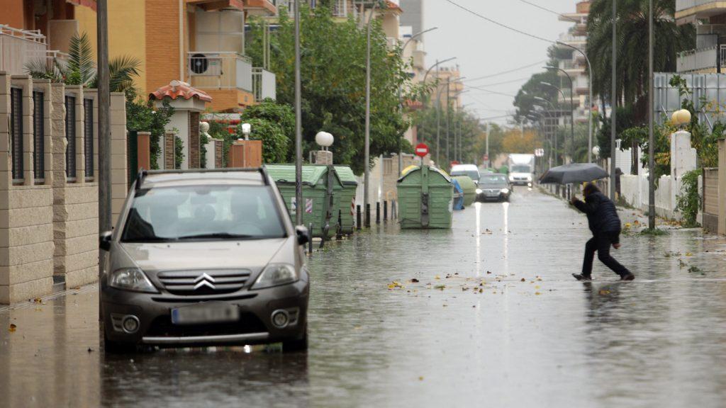tipos de lluvia
