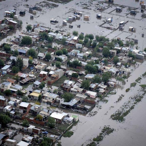 inundación en La Plata