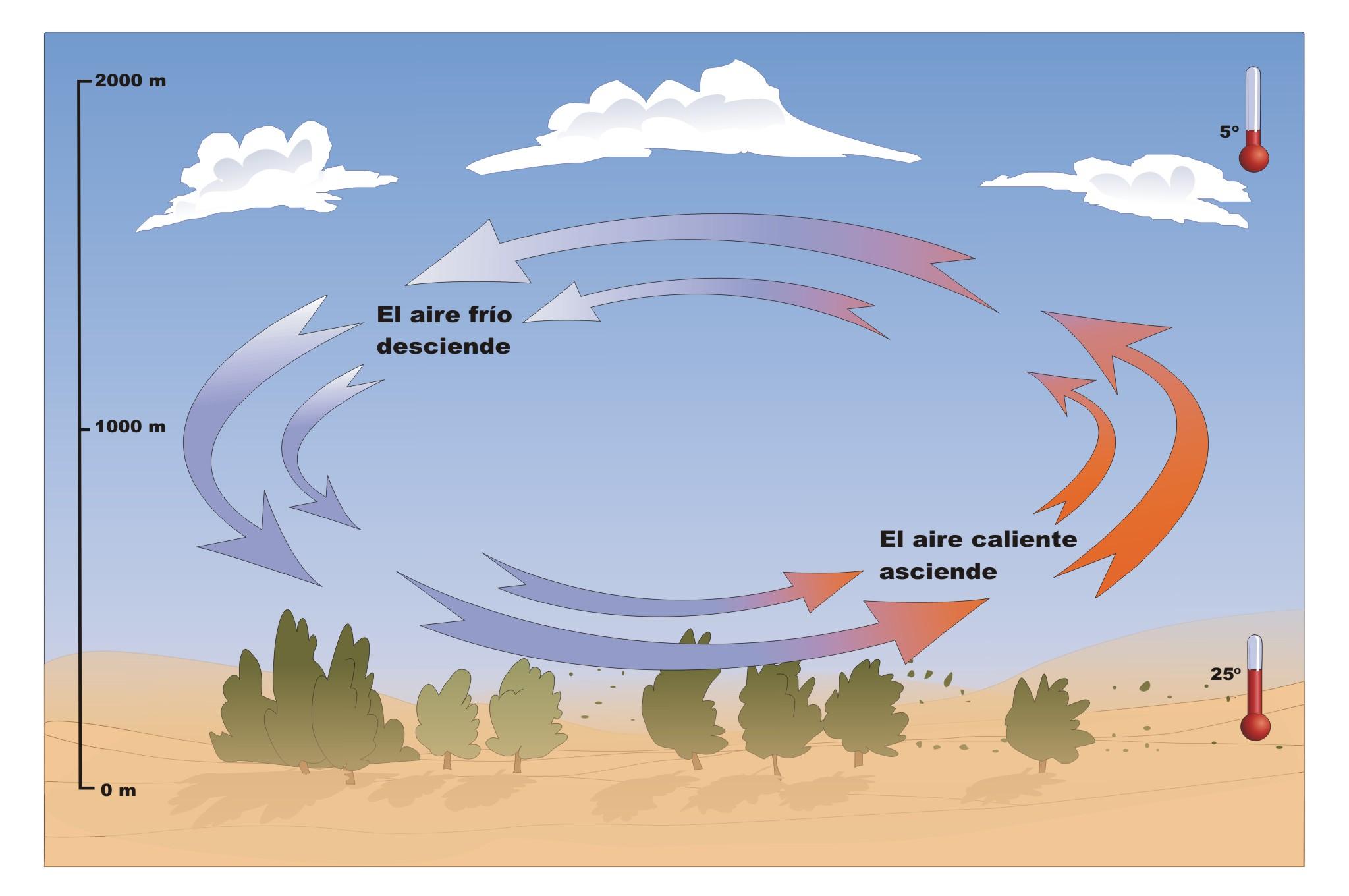 como se forma el viento